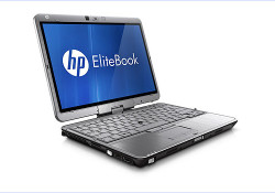 Available in a stylish platinum color, the ultraportable HP EliteBook 2760p Tablet PCs comes with modern design. Offering the same functionality as a conventional business notebook along with the flexibility of a writing tablet, the 12.1-inch diagonal HP EliteBook 2760p allows for pen use or finger touch.