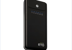 Available in four different models, ETO portable charging devices come with multiple connectors to charge all major brands of mobile phones, smart phones, iPods & MP3/MP4 players, Bluetooth devices, laptops, portable gaming consoles, etc. and it can also be used with digital cameras, digital camcorders and PSPs.