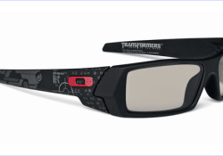 "Oakley 3D Gascan® Transformers Limited Edition is released to commemorate the debut of ""Transformers: Dark of the Moon"" 3D feature film. This special edition of Oakley 3D glasses carries graphics inspired by the movie, which will debut in the U.S. on June 29th. One side of the frame is highlighted […]"
