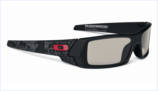"""Oakley 3D Gascan® Transformers Limited Edition is released to commemorate the debut of """"Transformers: Dark of the Moon"""" 3D feature film. This special edition of Oakley 3D glasses carries graphics inspired by the movie, which will debut in the U.S. on June 29th. One side of the frame is highlighted […]"""
