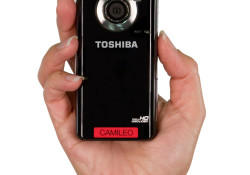 The Toshiba CAMILEO B10 is equipped with a two-inch diagonal LCD screen on the back of its candy bar shape and weighs a mere 3.0 ounces. Starting at $119.99 MSRP, this 16x digital zoom camcorder allows consumers to conveniently view videos and still photos directly on an HDTV via the […]