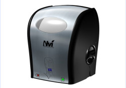 "Oasis Brands introduced its fully-enclosed, touchless Nvi® (pronounced ""en-vee"") Electronic Tissue Dispenser. Mentioned as the industry's first standard-sized electronic tissue dispenser, the system is designed to reduce waste and labor cost while minimizing the risk of cross-contamination, and is ideal for those with limited range of mobility."