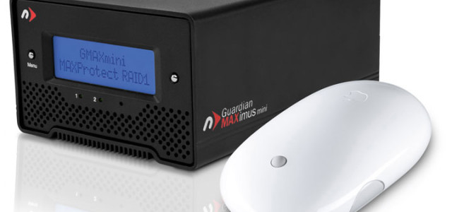 "NewerTech announced its new Guardian MAXimus mini Portable RAID. The new $299.99 MSRP model provides 1.0TB hardware RAID-1 redundancy for a MAXProtect ""mirrored"" copy of data or a 2.0TB RAID-0 mode for MAXPerform speed and a ""Quad Interface"" of FireWire 800/400, USB 2.0, & eSATA connections to offer Mac and […]"