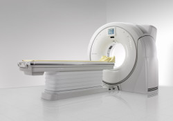 According to Hitachi, the first SCENARIA™ 64-slice CT scanner has been installed in North America. The new SCENARIA CT offers excellent image quality across a wide range of routine and advanced applications. And coming in an ergonomic package, the SCENARIA™ 64-slice CT accommodates the patient more comfortably.