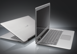 Acer' first Ultrabook, the Acer Aspire S3-951, is now available in North American for $899 (MSRP). This Ultrabook powers on instantly, connects to the Web in seconds and provides up to 50 days of stand-by time, or 6 hours of continuous usage. Measuring just half-an-inch at its thinnest and weighing […]