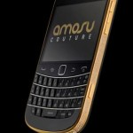 Blackberry 24ct Gold Swarovski Bold 9900