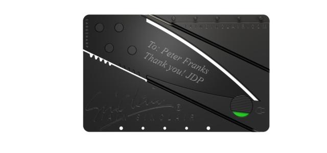 Cardsharp 2 knife – the sharpest and lightest utility knife in the world (the first real innovation in penknives since the first folding knife, which has been around for more than 2,000 years ): With size of a credit card, the CardSharp 2 utility knife is superlight, suprlight, and supersafe. […]