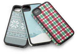Available in some of the season's hottest colors and patterns, the Speck FabShell cases is deceptively protective. Its one-piece design has reinforced sides and a rubbery raised bezel for extra screen protection. And to celebrate the holiday season, there are holiday edition Speck FabShells. Highlights: Flexible, fabric-wrapped and fashion-forward; Co-molded […]