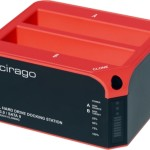 Cirago USB 3.0/SATA 2 Dual Hard Drive Docking Station with One-Touch Cloning.