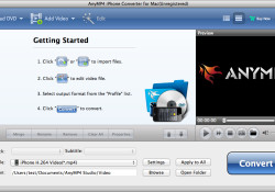 Do you want to rip all of your DVD collection to iPhone? Don't worry, it's very easy to do. Use the AnyMP4 iPhone converter which can do what you want with ease and fast. The converter allows you to rip any DVD file to iPhone MP4, MOV, and M4V, and […]