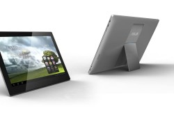 "At Computex 2012, ASUS unveiled its new Transformer AiO, a combination of desktop PC and handheld tablet. This device can switch between both and also features dual operating systems Windows and Android. Coming with an an extended 18.4""LED-backlit display, the Transformer AiO also features ASUS SonicMaster technology and integrated speakers […]"