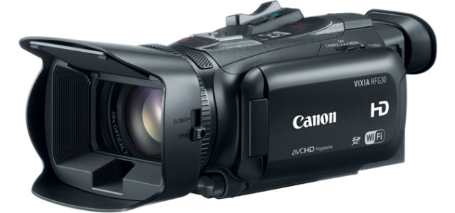 Designed for video enthusiasts and advanced amateurs, Canon VIXIA HF G30 camcorder features a powerful 20x Genuine Canon HD Video Lens, MP4 recording, and built-in Wi-Fi capability with dual band wireless support. Scheduled to be available in June with an estimated retail price of $1,699.99., this compact camcorder comes with […]